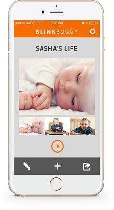 This new app reminds you to take videos of your kids and stitches them together for a cool montage!