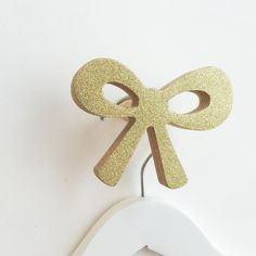New arrival wall hooks have landed at www.knobbly.com.au Wooden Wall Hooks, Wooden Walls, Little Girl Rooms, Kids Decor, Ribbon Bows, Silver Glitter, Kids Room, Room Decor, Hand Painted