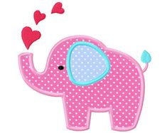 Elefanten-Stickerei-Design Elefantenbaby Stickerei Applikation x 4 5 x 5 6 x Cute Elephant Baby Elephant Elephant by CherryStitchDesign Applique Templates, Applique Patterns, Applique Designs, Quilt Patterns, Baby Patterns, Baby Applique, Elephant Applique, Machine Embroidery Applique, Embroidery Fonts