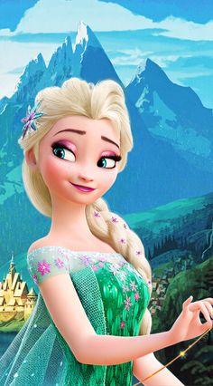 Wallpaper disney princess elsa 36 New Ideas Disney Rapunzel, Frozen Disney, Princesa Disney Frozen, Frozen Frozen, Elsa Frozen Fever, Frozen Movie, Frozen Party, Frozen Birthday, Birthday Cake