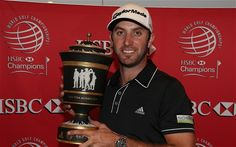 Winner of the Old Tom Morris Cup at the WGC HSBC Championship