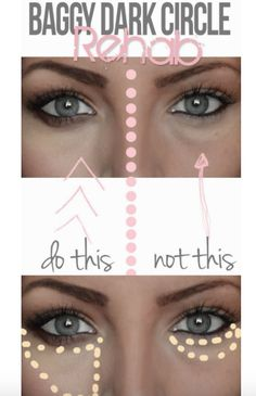 How to properly apply concealer to get rid of those underage circles and looks flawless