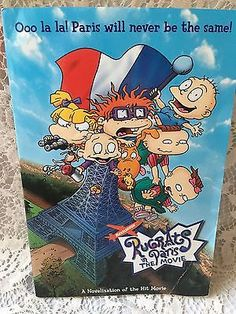 Rugrats: Rugrats in Paris by Golden Books Staff (2000, Paperback)