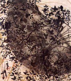 calligraphy by Honami Koetsu (1558 - 1637).