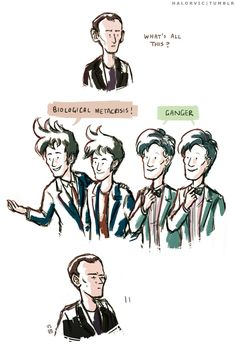 The Twelfth Doctor requests that you view these fragments of time and space from my personal archives.