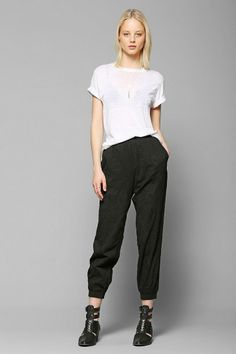 Love Sadie Embroidered Gauze Pant #urbanoutfitters