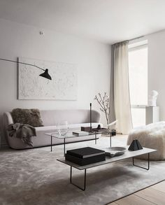 Minimal and chique home - via Coco Lapine Design