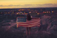 Hot swag Fashion Girl with USA Flag [Swag Fashion Girl USA] | Swag Girls