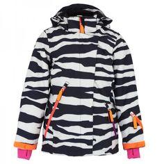 Molo Zebra Print Pearson Ski Jacket at alexandalexa.com