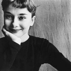 Audrey Hepburn by Irving Penn