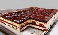 Prajitura cu visine, ciocolata si crema de frisca, o delicatesa pe care o sa o indragesti imediat