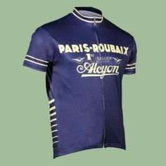 b8cce8c07 Retro Cycling Jersey - Paris Roubaix by Retro Image Apparel  cyclingjerseys   cycling  jerseys