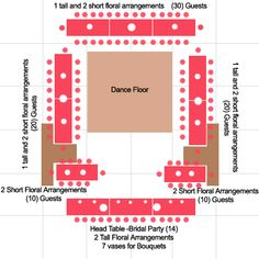 4559d4b7e6c2d4903ec9780f1392f312  wedding table layouts reception layout - How to Set Up Your Space and Get the Most out of Your Venue Layout