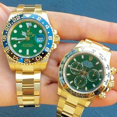 Green double trouble is dedicated to @hbcluxury congrats for reaching 20K ... | http://ift.tt/2cBdL3X shares Rolex Watches collection #Get #men #rolex #watches #fashion