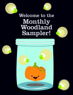 Woo hoo! 2013 Monthly Woodland Sampler PDF Pattern by The Frosted Pumpkin Stitchery