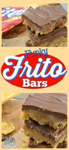 Make these Funky Frito Bars for a treat that's equal parts salty, crunchy, and sweet! Delicious peanut butter and chocolate are poured over tasty Fritos chips to make a dessert bar that's wonderfully out of the ordinary. Just be sure to make enough for everyone, because your family and friends are going to love this! These bars are not only incredibly tasty, but easy to make.