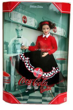 Coca Cola Barbie - Collector's Edition I love collecting them