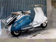 OK Los Angeles: 1953 Lambretta LD 125 Electric Start - The Coolest Bike I Ever Owned
