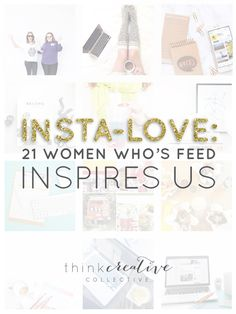 As a business in pursuit of a beautiful and effective Instagram feed that powers our business, we have found it extremely important to continue to be inspired. With more than 300 million people using the photo app every month it can get pretty overwhelming to find the accounts worth paying attention to. We have gathered together 21 amazing women that you should 100% be following. Many of them are crazy successful entrepreneurs. Some you may know and many you may not.