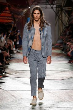 Missoni - Spring/Summer 2015 - Milan Fashion Week #missoni #summer2015 #milanfashionweek #runway #luxury #essentialhomme #trends