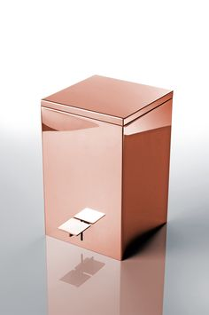 Copper Bathroom Bin