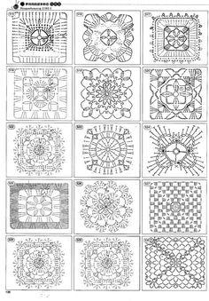 Màs de 1000 patrones de diferentes tipos de puntos y motivos geomètricos para trabajar sobre todo tipo de prendas y proyectos en curso , ...