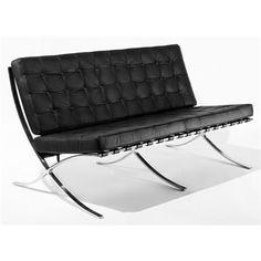 Sofa Barcelo 2os insp. Barcelona Barcelona Chair, Sofa, Furniture, Design, Home Decor, Settee, Decoration Home, Room Decor