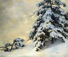 bofransson: After the Snowfall Jonas Lie - 1908 Painting Snow, Painting & Drawing, Classic Paintings, Contemporary Paintings, Oil Painting Gallery, Art Gallery, American Impressionism, Russian Painting, Outdoor Paint