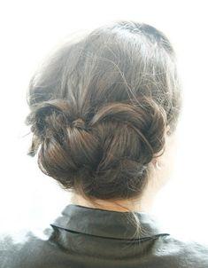 Updo #Hairstyles Tutorials: Big Braid Bun Updos