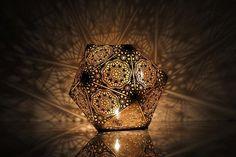 Portal Table Light - Gold