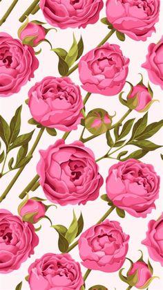 Flowery Wallpaper, Pattern Wallpaper, Wallpaper Backgrounds, Wallpaper Ideas, Pretty Wallpapers, Best Iphone Wallpapers, Floral Wallpapers, Wall Painting Flowers, Paint Flowers