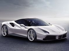 The Ferrari 488 GTB was unveiled at the 2015 Geneva Motor show and is currently in production. The car is an update for the Ferrari 458 with the 488 sharing some of the design an components. Ferrari 488 Gtb, Carros Ferrari, Ferrari 2017, Ferrari Car, Ferrari Spider, Sports Cars For Sale, Exotic Sports Cars, Exotic Cars, Sport Cars