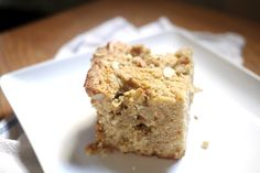 brown butter, ginger, sour cream coffee cake.