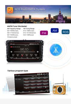 AM/FM Tuner(Worldwide) AM Frequency Range: 522-1620(Europe); 530-1710(America); 522-1620(Russia) FM Tuning Range: 87.5-108(Europe); 87.5-107.9(America); 65.0-108(Russia)