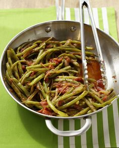 Green+Beans+with+Tomatoes