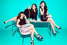 Kardashian Kollection for Sears Spring 2013 campaign shoot shot by Ellen von Unwerth