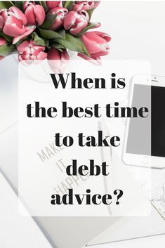 When is the best time to take debt advice? Today I have guest post from Sara Williams who writes about everything to do with debt and credit ratings at her personal website Debt Camel. She is also a debt adviser at her local Citizens Advice. Ways To Save Money, Money Tips, How To Make Money, Creating A Vision Board, Credit Rating, Managing Your Money, Budgeting Tips, Money Matters, Finance Tips