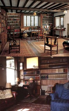 Rudyard Kipling's study in Naulakha. You can stay in his house where he wrote the Jungle Book in VT