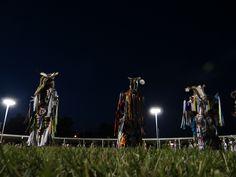 Grass dancers