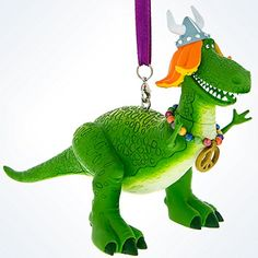 Disney Parks Toy Story Rex Viking Christmas Ornament New with Tags Dinosaur Christmas Ornament, Disney Christmas Ornaments, Christmas Figurines, Christmas Holidays, Disney Fun, Disney Parks, Parks And Rex, Viking Christmas, Viking Helmet