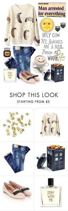 """""""Whovian themed outfit"""" by unhelecho ❤ liked on Polyvore featuring H&M, Chicnova Fashion, Monsoon and Liaison De Parfum"""