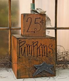 KP Creek Gifts - Pumpkins 25¢ Short Stack