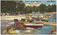 Gems: Vintage postcards from my beloved state (Maine)