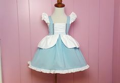 Hey, I found this really awesome Etsy listing at https://www.etsy.com/listing/481186507/cinderella-inspired-girls-toddler-disney
