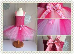 Peppa Pig Tutu Dress.   Beautiful & lovingly handmade.   Price varies on size, starting from £25.  Please message us for more info.   Find us on Facebook www.facebook.com/DiddyDarlings1 or our website www.diddydarlings.co.uk