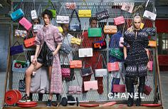 "CHANEL Fall-Winter 2014 ad campaign ""Coco Coach"""
