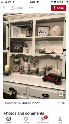 Dad you should add something like this into the kitchen dresser Kitchen Dresser, Kitchen Furniture, Kitchen Decor, Bedroom Furniture Redo, Art Deco Furniture, Luxury Furniture, Furniture Online, Furniture Stores, Dining Room Hutch