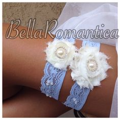 A personal favorite from my Etsy shop https://www.etsy.com/listing/193257829/something-blue-wedding-garter-bridal
