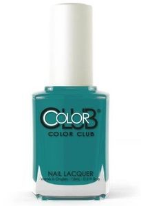 Color Club Nail Polish, Seeing Seagulls 1325 Color Club Nail Polish, Opi Nail Polish, Nail Treatment, China Glaze, Stylish Nails, Feet Care, Manicure And Pedicure, Teal Blue, Essie