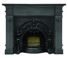 UKAA buy and sell Rococo Black Cast Iron Fire Insert And Cast Iron Surround Antique carron fires and fireplaces are for sale at UKAA. UKAA are an approved Carron distributor, based in Cannock Wood Staffordshire. Buy now from UKAA Cast Iron Fireplace, Modern Fireplace, Fire Inserts, Fire Basket, Cast Iron Radiators, Fire Surround, Architectural Antiques, French Country Decorating, Rococo